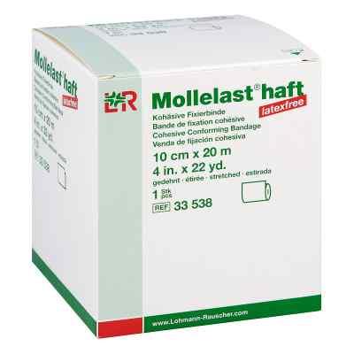 Mollelast haft latexfrei 10cmx20m gedehnt weiss  bei apo-discounter.de bestellen