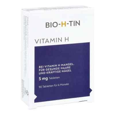 Bio-h-tin Vitamin H 5 mg für 6 Monate Tabletten  bei apo-discounter.de bestellen