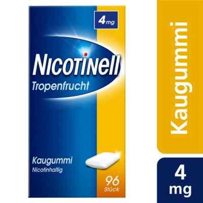 Nicotinell Kaugummi 4 mg Tropenfrucht  bei apo-discounter.de bestellen