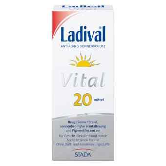 Ladival Vital Anti Aging Creme Lsf 20