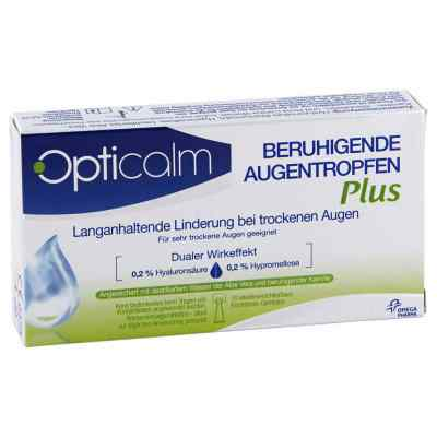 Opticalm beruhigende Augentropfen Plus in Einzeld.