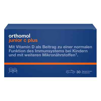 Orthomol Junior C plus Kautablette (n) mandarine/orange
