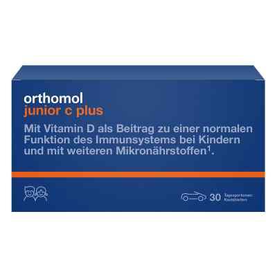 Orthomol Junior C plus Kautablette (n) mandarine/orange  bei apo-discounter.de bestellen
