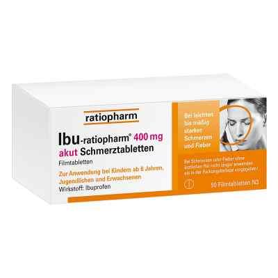 IBU-ratiopharm 400 akut Schmerztabletten  bei bioapotheke.de bestellen