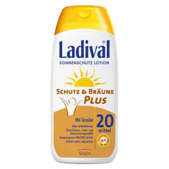 Ladival Schutz&bräune Plus Lotion Lsf 20 bei apo-discounter.de bestellen