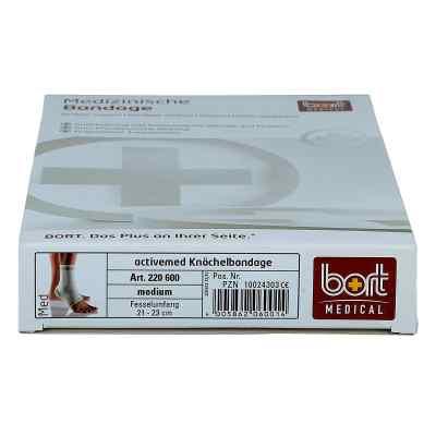 Bort activemed Knöchelbandage medium silber  bei apo-discounter.de bestellen