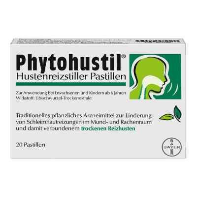 Phytohustil Hustenreizstiller Pastillen gegen Reizhusten  bei apo-discounter.de bestellen