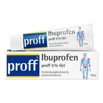 Ibuprofen proff 5% Gel