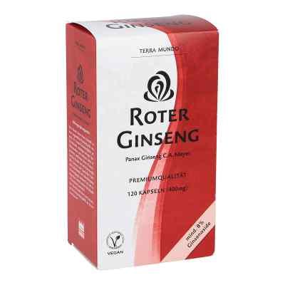 Roter Ginseng 400 mg 8% von Terra Mundo  bei apo-discounter.de bestellen