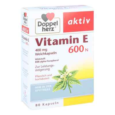 Doppelherz Vitamin E 600 N Weichkapseln  bei apo-discounter.de bestellen