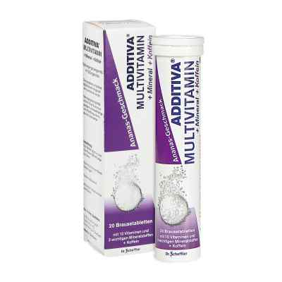 Additiva Multivit.+Mineral+Koffein Ananas Brausetabletten  bei apo-discounter.de bestellen