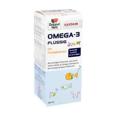 Doppelherz Omega-3 Junior flüssig system