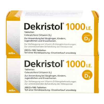 Dekristol 1.000 I.e. Tabletten  bei apo-discounter.de bestellen