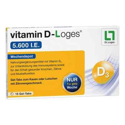 Vitamin D-loges 5.600 I.e. Kautabletten  bei apo-discounter.de bestellen