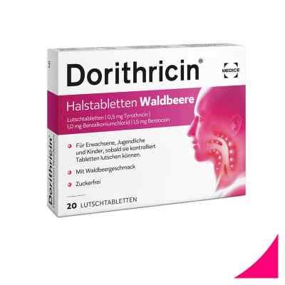 Dorithricin Halstabletten Waldbeere 0,5mg/1,0mg/1,5mg  bei bioapotheke.de bestellen