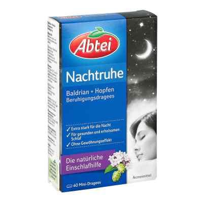 Abtei Nachtruhe Baldrian+hopfen Dragee (s) zur, zum beruhigung