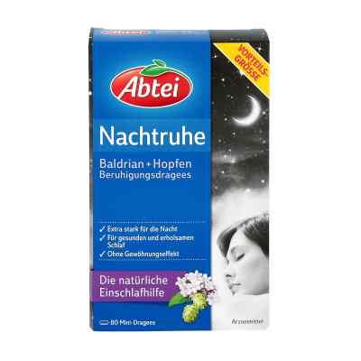 Abtei Nachtruhe Baldrian+hopfen Dragee (s) zur, zum beruhigung  bei apo-discounter.de bestellen