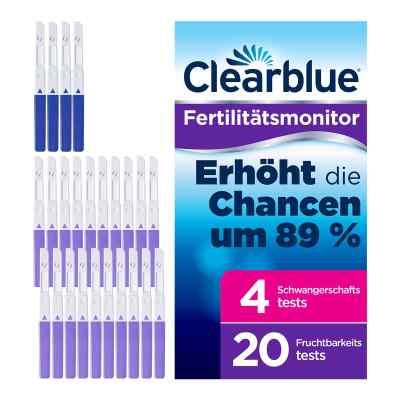 Clearblue Fertilitätsmonitor Teststäbchen 20+4  bei apo-discounter.de bestellen