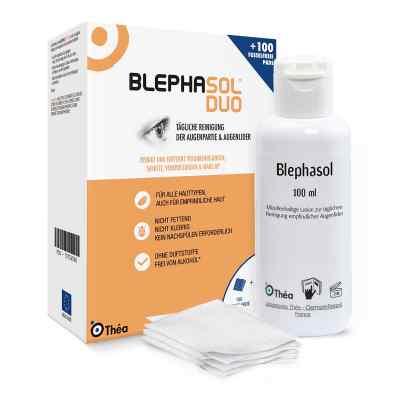 Blephasol Duo 100 ml Lotion+100 Reinigungspads  bei apo-discounter.de bestellen