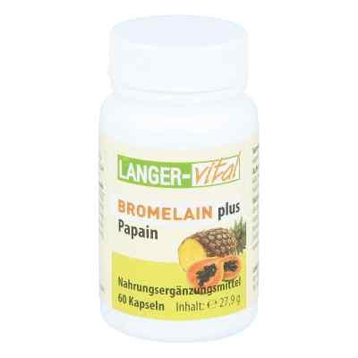 Bromelain 160 mg+ Papain 160 mg Tg. Kapseln  bei apo-discounter.de bestellen