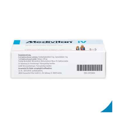 Medivitan iV Injektionslösung in Ampullen -paare  bei apo-discounter.de bestellen