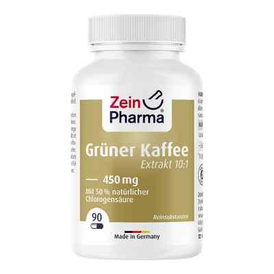 Grüner Kaffee Extrakt 450 mg Kapseln  bei apo-discounter.de bestellen
