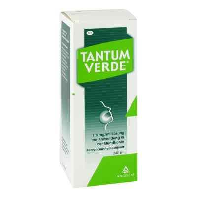 Tantum Verde 1,5 mg/ml Lösung zur, zum Anwendung in der Mundhöhl  bei apo-discounter.de bestellen