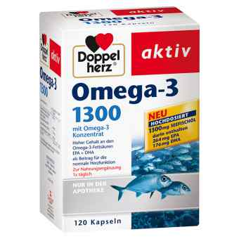 Doppelherz Omega-3 1300 Kapseln