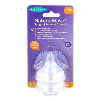 Lansinoh Naturalwave Sauger L  bei apo-discounter.de bestellen