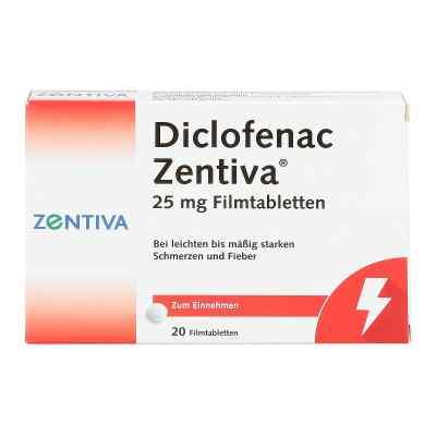 Diclofenac Zentiva 25mg  bei apo-discounter.de bestellen