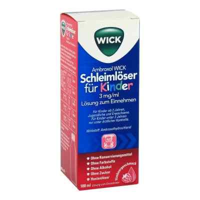 Ambroxol WICK Schleimlöser für Kinder 3mg/ml Lsg.z.Einn.  bei apo-discounter.de bestellen