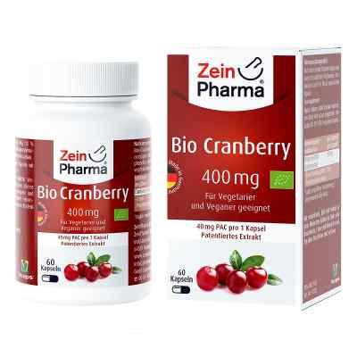 Bio Cranberry Vegi Kapseln 400 mg  bei apo-discounter.de bestellen