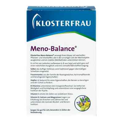 Klosterfrau Meno-balance Tabletten  bei apo-discounter.de bestellen