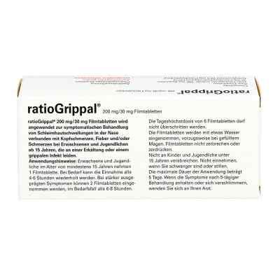 Ratiogrippal 200 mg/30 mg Filmtabletten  bei apo-discounter.de bestellen