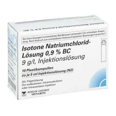 Isotone Nacl Lösung 0.9% Bc Plastik amp.inj.-lsg.  bei apo-discounter.de bestellen