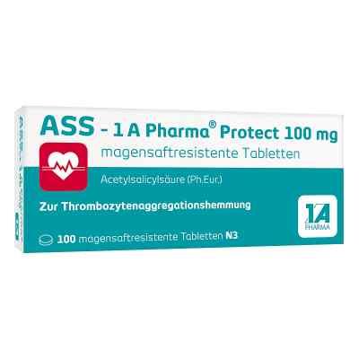 Ass 1a Pharma Protect 100 mg magensaftresistent Tabletten  bei apo-discounter.de bestellen