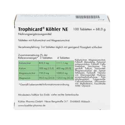 Trophicard Köhler Ne Tabletten  bei apo-discounter.de bestellen