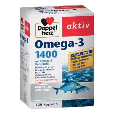 Doppelherz Omega-3 1.400 Kapseln  bei apo-discounter.de bestellen