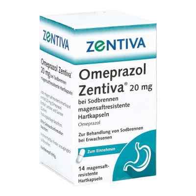 Omeprazol Zentiva 20mg bei Sodbrennen  bei apo-discounter.de bestellen