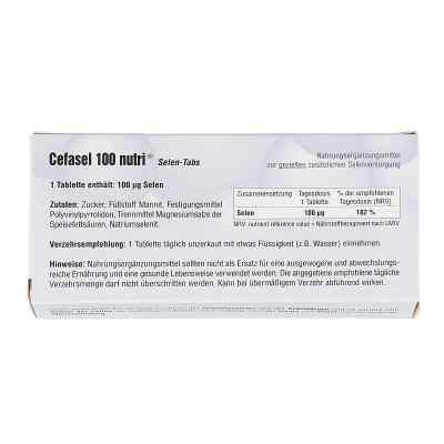 Cefasel 100 nutri Selen-tabs  bei apo-discounter.de bestellen
