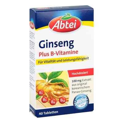 Abtei Ginseng Plus B-vitamine Tabletten  bei apo-discounter.de bestellen