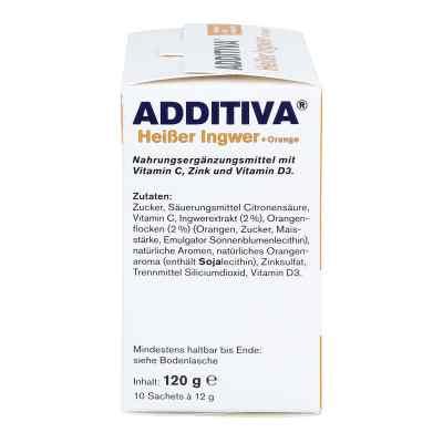 Additiva Heisser Ingwer+orange Pulver  bei apo-discounter.de bestellen