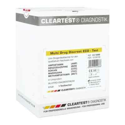 Cleartest Multi Drug Discreet Eco-test 5fach  bei apo-discounter.de bestellen