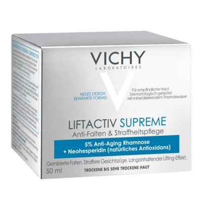 Vichy Liftactiv Supreme Tag trockene Haut Creme  bei bioapotheke.de bestellen