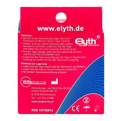 Elyth Tape Kinesiologie 5 cmx5 m rot  bei apo-discounter.de bestellen