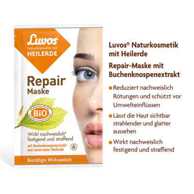 Luvos Naturkosmetik Heilerde Repair Maske  bei apo-discounter.de bestellen