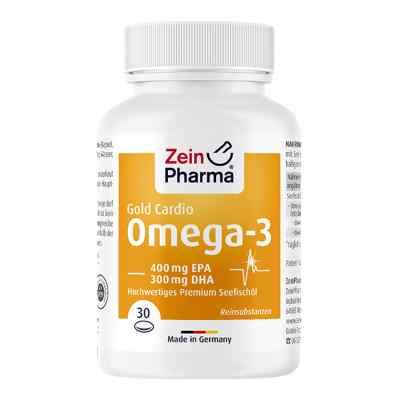 Omega-3 Gold Herz Dha 300mg/epa 400mg Softgelkaps.  bei apo-discounter.de bestellen