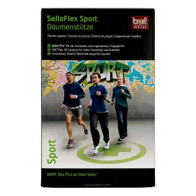 Bort Sellaflex Daumenstütze Sport L schwarz-grün  bei apo-discounter.de bestellen