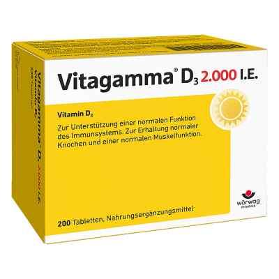 Vitagamma D3 2.000 I.e. Vitamin D3 Nem Tabletten  bei apo-discounter.de bestellen