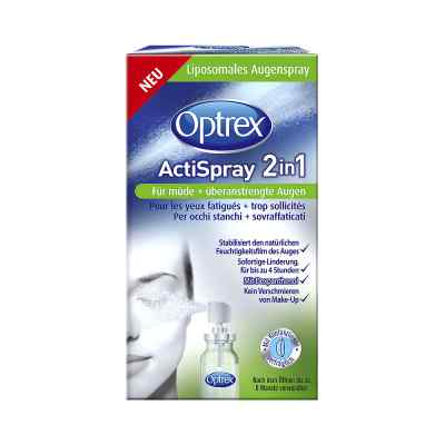 Optrex Actispray 2in1 für müde+überanstrengte Augen bei apo-discounter.de bestellen